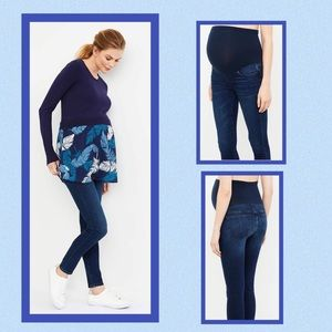 A PEA IN THE POD Maternity Skinny Jeans NWT Sz XS